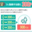 moppyの新友達紹介50%